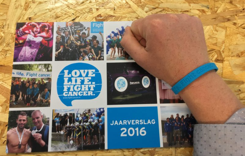 Jaarverslag voor Fight Cancer.